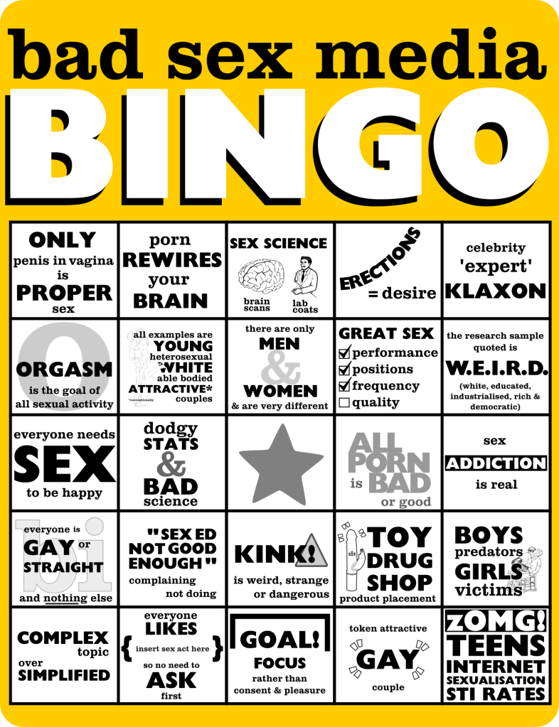 bad sex media bingo draft 2